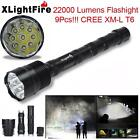 6000-28000LM XML T6 LED Flashlight 5 Modes Torch 26650/18650 Camping Lamp Light