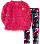 Juicy Couture Big Girls Berry Eyelash Sweater 2pc Legging Set Size 7 8/10 12