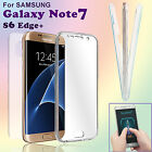 Full Body Protective Shockproof Clear Cover Case For SAM Galaxy Note7/S6 Edge+
