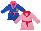 Girls Paw Patrol Puppy Dog Skye Fleece Dressing Gown Bathrobe 3 to 6 Years
