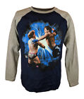 AJ Styles Springboard Forearm Kids Boys WWE Long Sleeve T-shirt