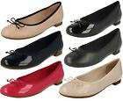 Ladies Clarks Ballerina Style Flats 'Couture Bloom'
