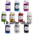Craft Glitter 14 DIFFERENT COLORS 16oz. 1lb