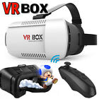 VR BOX Virtual Reality 3D Glasses Google Headset For Samsung NOTE 5 6 7 +Gamepad