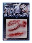 HALLOWEEN HORROR MAKE UP WOUNDS SCARS BOILS WARTS ZOMBIE FRANKENSTEIN WITCH
