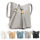 New Womens Handbag Ladies Shoulder Cross Body Bag Faux Leather Hobo Tote Purse