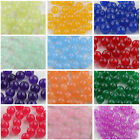 Wholesale 6/8/10mm Smooth Gemstone Round Loose Spacer Beads DIY Jewelry Making