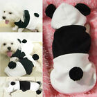 1X Funny Panda Hoodie Costume Dog Clothes Jacket For Pet Costumes Apparel CA