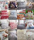 CHRISTMAS & FESTIVE QUILT/DUVET COVERS & BEDDING SETS FOR ALL THE FAMILY WOW!!