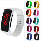 Wrist Watch Digital Sport Bracelet Waterproof Fashion Rubber Men Women LED