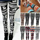 Women Warm Skinny Colorful Leggings Pants Trousers Stretchy Christmas Sexy