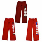Victoria's Secret Mlb Baseball Sweatpants Boyfriend Fit Lounge Pant Vs New Nwt