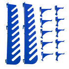 11 Or 12 Assorted Tool Hook Set For Louvre Panel Tool Rack Shelf Parts Storage