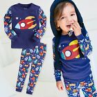 "Vaenait Baby Infant Toddler Kids Boys Clothes Pajama Set ""Little Rocket"" 12M-7T"