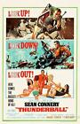 THUNDERBALL BOND VINTAGE MOVIE POSTER A4 A3 ART PRINT CINEMA £3.95 GBP on eBay