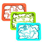 Silicandy Animal Cookie Cutter Sheets