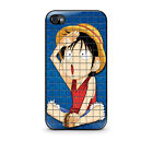 New Anime One Piece Pattern iPhone Case 4 4S, 5 5S, 5c, 6, galaxy S3, S4 Cover