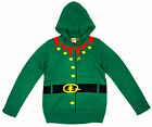 Boys Girls Christmas Elf Xmas Hoody Christmas Knitted Jumper 6 Months - 6 Years