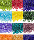 200 Frosted Matte Silver Lined Matsuno 6/0 Glass Seed Beads Spacer Beads