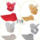 Color Laser Cut Pigeon Heart Table Napkin Ring Wedding Favors Party Decor New