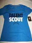 Nike Women's San Diego Chargers Talent Scout Shirt NWT $28.99 USD