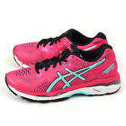 Asics GEL-Kayano 23 Sport Pink/Aruba Blue/Flash Coral Support Running T696N-1978