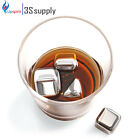 10 PCS STAINLESS STEEL ICE CUBE CHILLER STONE
