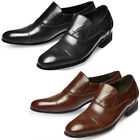 Mooda Mens Leather Loafer Shoes Classic Formal Lace up Dress Shoes Chic UK