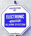 Home Business Alarm Yard Sign w/ Stake & Stickers 4 Sign Types Security System