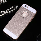 XMAS Bling Glitter Crystal Hard Back Phone Case Cover For iPhone 4s 5s 6+Plus SE