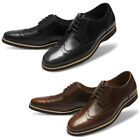 Mooda Mens Leather Shoes Classic Formal Oxfords Dress Shoes OriginL UK