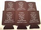 They finally did it Wedding Koozies 1222 25 to 300 custom can party favors
