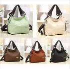 Fashion Women Leather Style Messenger Handbag Shoulder Bag Purse Tote Hot