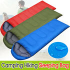 3 Seasons Single Adult Camping Hiking Suit Case Envelope Sleeping Bag Waterproof