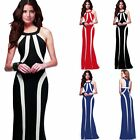 Formal Women Ladies Bridesmaid Evening Formal Party Ball Maxi Pencil Dress Gown