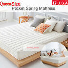 """3FT SINGLE 4.5FT DOUBLE 5FT Queen Spring MATTRESS 10"""" HOT SALE"""