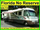 NO RESERVE 2000 ITASCA SUNFLYER 36FT CLASS A RV MOTORHOME CAMPER 2 SLIDE OUTS