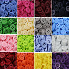 DIY Plastic Mixed Buttons Arts Crafts Card Making Scrapbooking Sewing Clothes