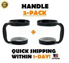 Handle For 20/30 Oz YETI RTIC Ozark Tumbler Rambler Cup Holder Travel Black NEW