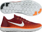 Nike Free RN Distance Mens Running Shoes - Red