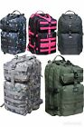 TACTICAL MOLLE Bug Out Bag ARMY USMC USN LARGE Survival EDC Backpack ALL COLORS