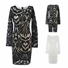 Elegant Women Ladies Business Meeting Party Bodycon Slim Cocktail Pencil Dress