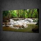 BEAUTIFUL WATERFALL THAILAND LANDSCAPE READY TO HANG CANVAS PRINT PICTURE