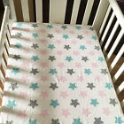 Cotton Baby Crib Fitted Sheet Bed Matching Mattress Cover Baby Bedding