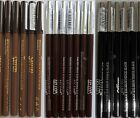 12 x SAFFRON WATERPROOF EYE BROW PENCIL BLONDE DARK BROWN OR BLACK LINER EYEBROW