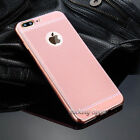 Defender Luxury PU Leather Soft TPU Frame Slim Case Cover for iPhone 7 Plus