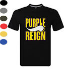 Purple Reign Minnesota Vikings Defense T Shirt Urban Mens Tee NEW Footbal Top