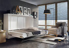 Brand New Horizontal Wall Hidden Fold Away Pull Out Murphy Bed 3 Sizes 5 Colours