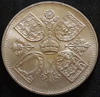 1953 1960 GB Crown Coin 5 shillings QEII Uncirculated