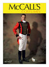 McCALL'S M7457 Men's 18/19c Military/Steampunk Jacket Costume Sewing Pattern